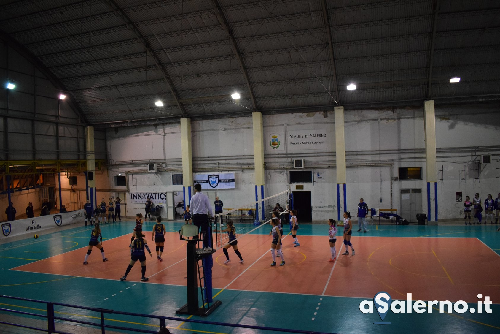 Salerno Guiscards vs Scintille Volley Cava 3