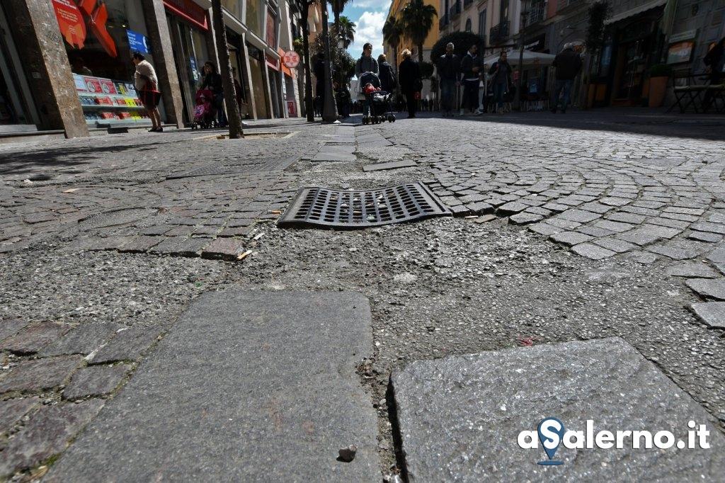 Salerno. Reportage sulle condizioni del Corso Vittorio Emanuele