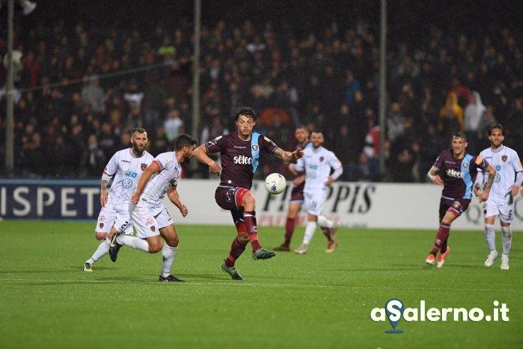 Salernitana, doccia gelata firmata Garritano (0-1 pt) - aSalerno.it