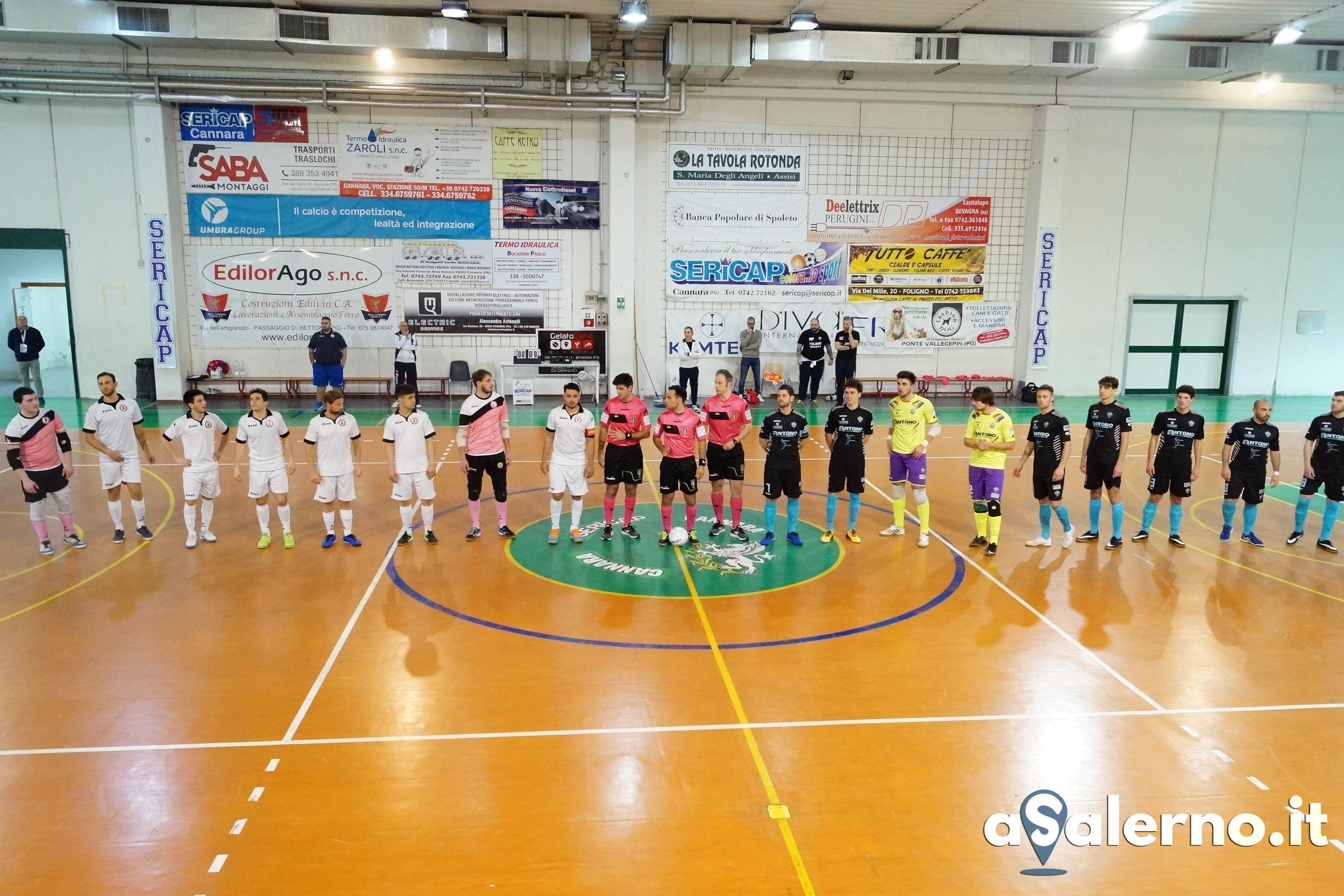 Foligno calcio a 5 - Alma Salerno