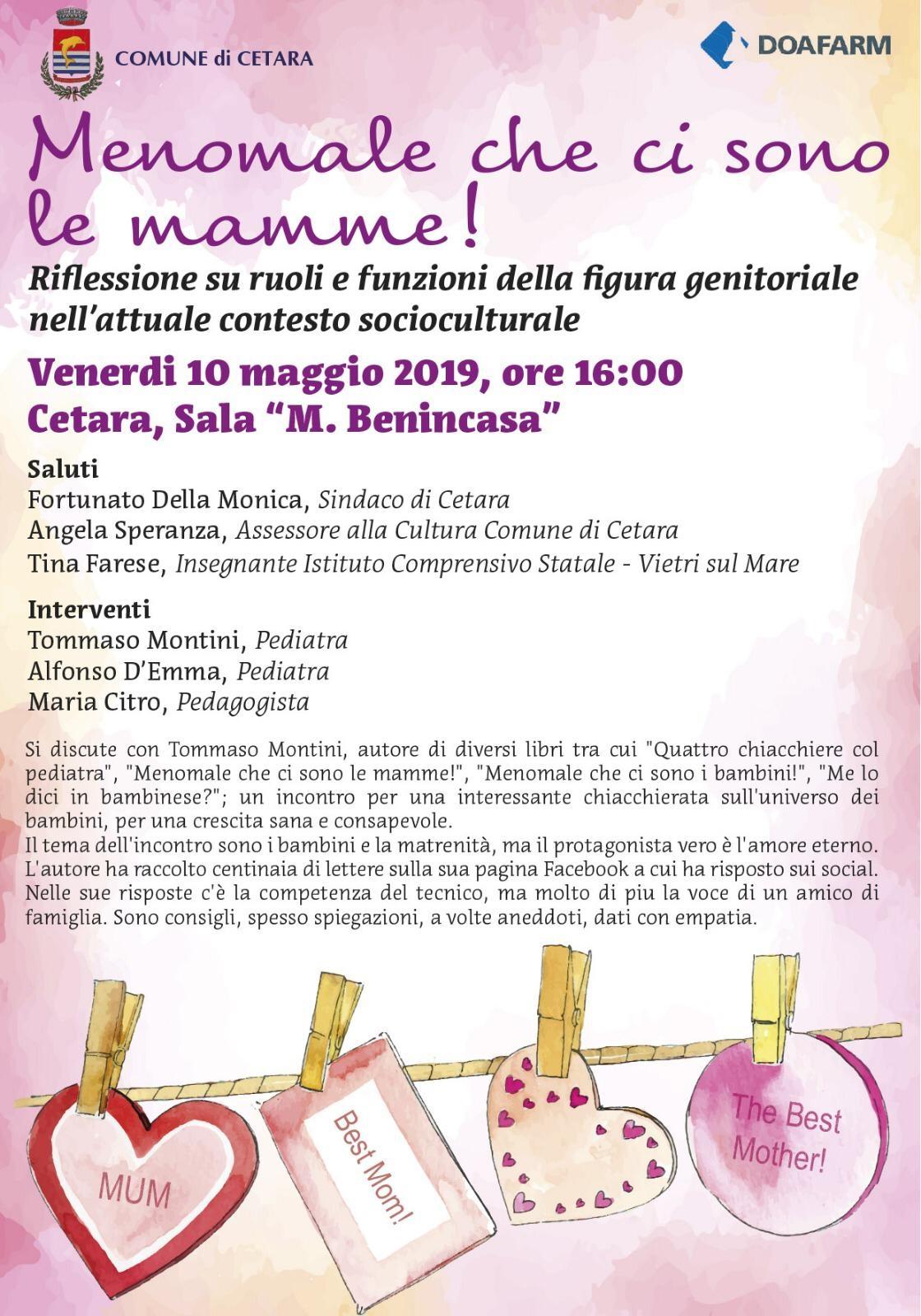 Locandina Convegno Mamme_Cetara 10.05.2019