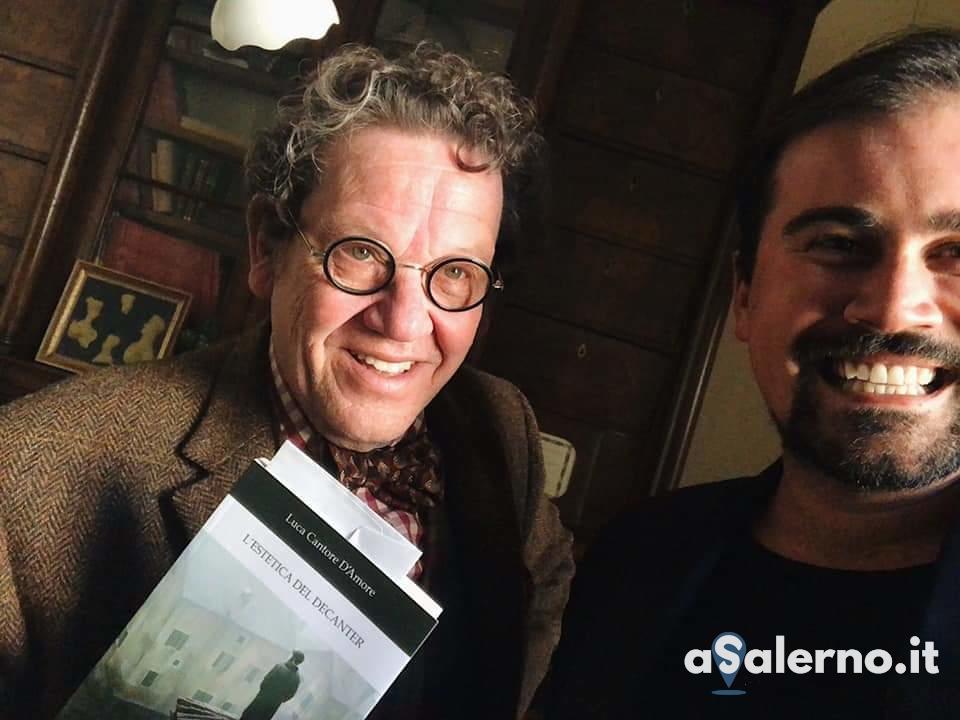 Luca Cantore D'Amore con Philippe Daverio