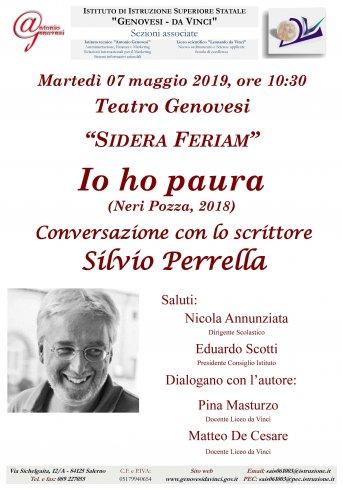 """Silvio Perrella chius il ciclo di appuntamenti """"Sidera Feriam"""" - aSalerno.it"""