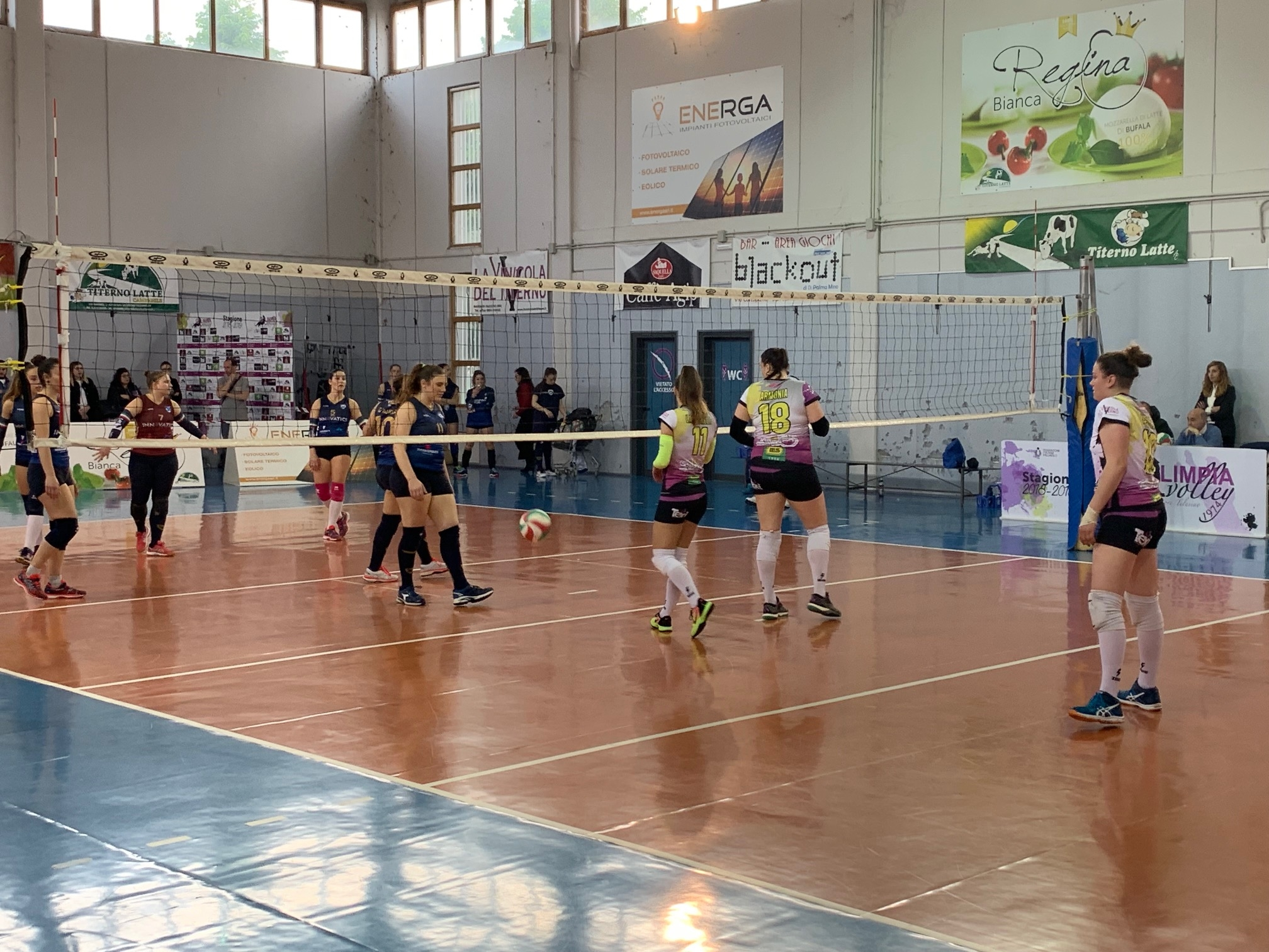 Olimpia Volley vs Salerno Guiscards 1