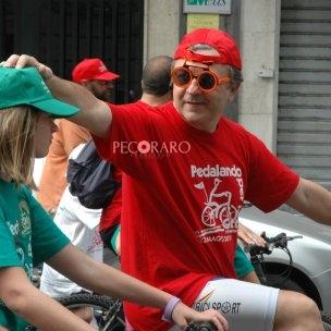 SAL - 22 05 2011 Salerno Pedalando per la città manifestazione ciclistica nella foto alcuni pareticolari della giornata (Foto Tanopress)