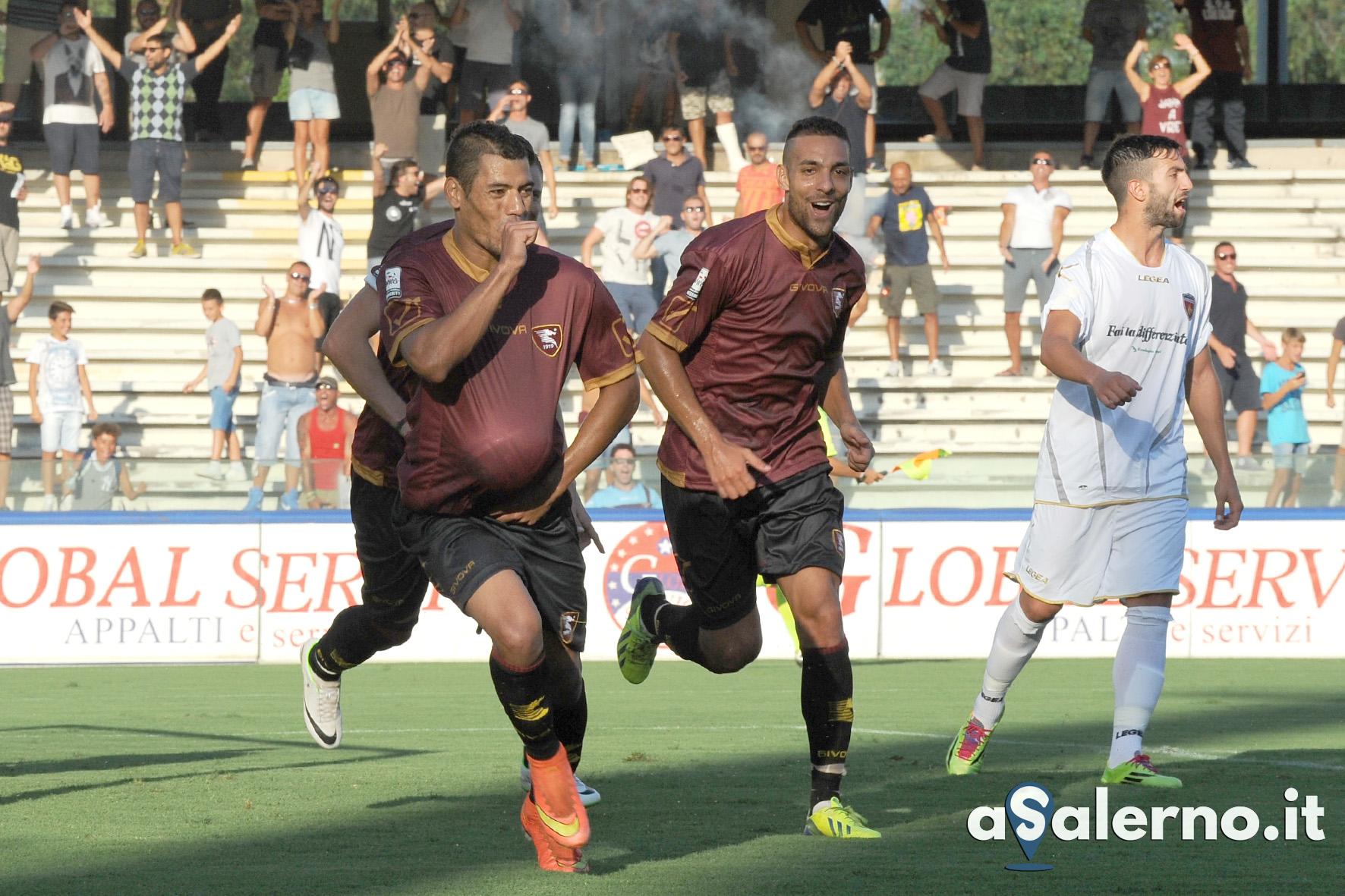 31-08-2014 Salernitana - Nuova Cosenza campionato lega pro 2014 2015
