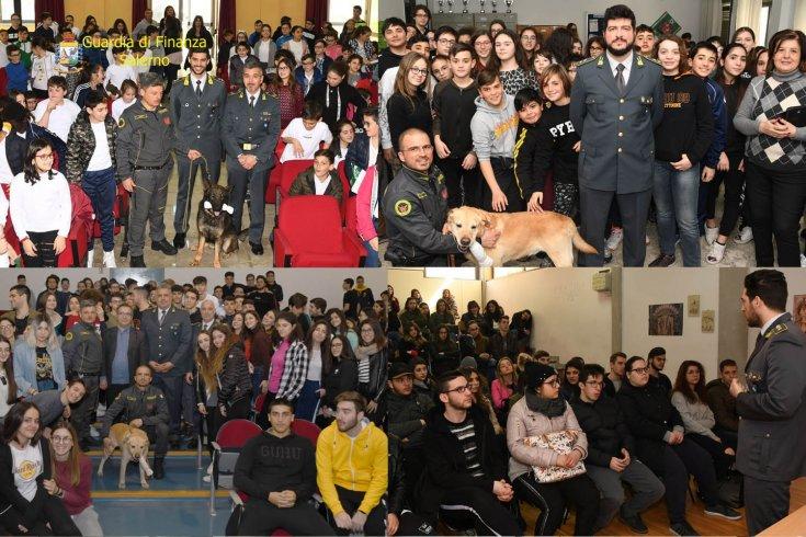 A scuola con la Guardia di Finanza: ultimati gli incontri - aSalerno.it