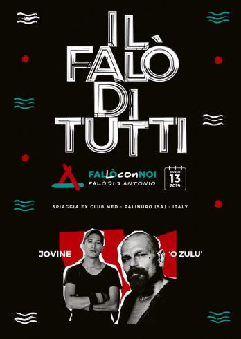 O'Zulù e Jovine per l'evento plastic free di Palinuro - aSalerno.it