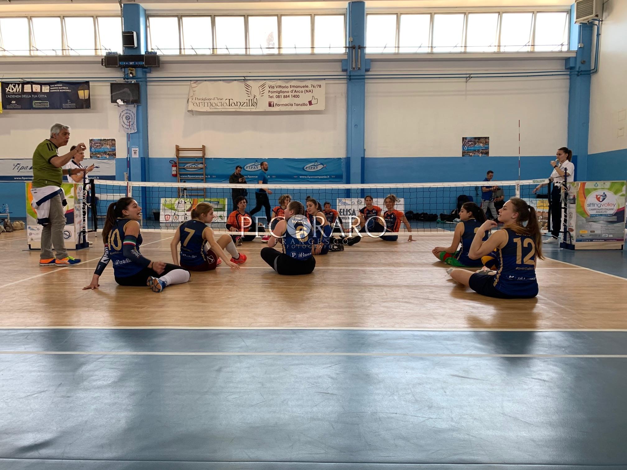 Salerno Guiscards Sitting Volley 3