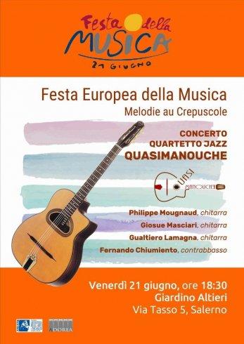 """Nel Solstizio d'Estate la """"Festa della Musica"""" a Salerno - aSalerno.it"""