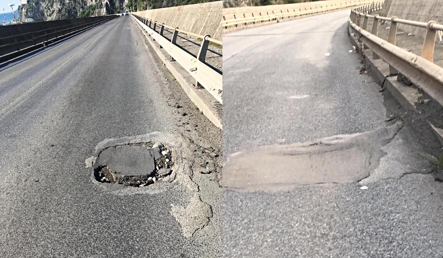 viadotto gatto asfalto