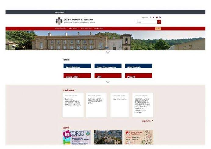 Mercato San Severino, presentato il nuovo sito del Comune - aSalerno.it