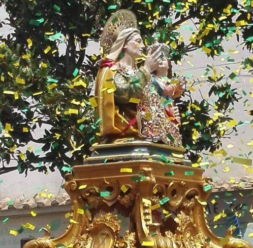 Sant'Anna, pellegrinaggio notturno a piedi da Baronissi a Pellezzano - aSalerno.it