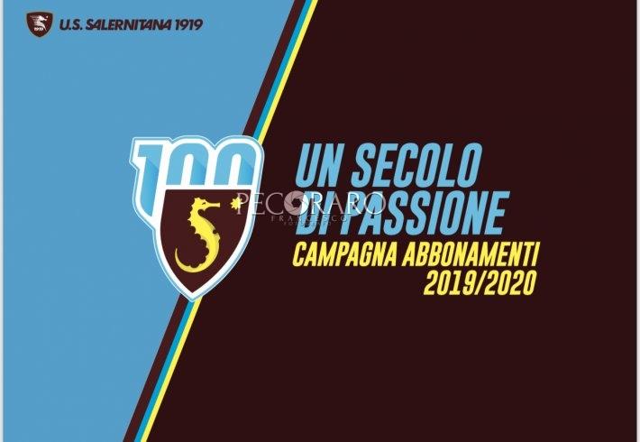 """""""Un Secolo di Passione"""" la Salernitana lancia la Campagna Abbonamenti: Curva a 135€ - aSalerno.it"""