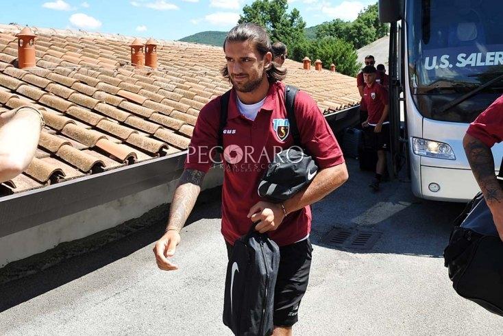 Casasola lascia il ritiro: tornerà a Roma - aSalerno.it