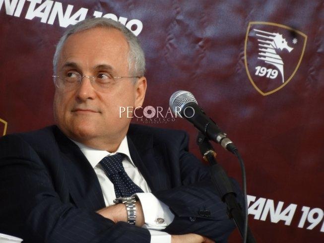 """Lotito si promette: """"Esperienza paga.. presidente deve essere più presente"""" - aSalerno.it"""