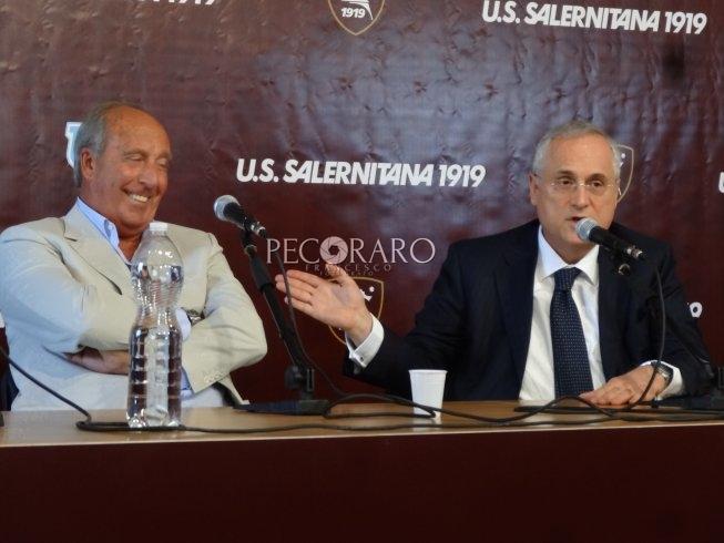 """Ventura-Lotito, siparietto sul contratto: """"Fortuna che mi sono messo da parte qualcosa.."""" - aSalerno.it"""