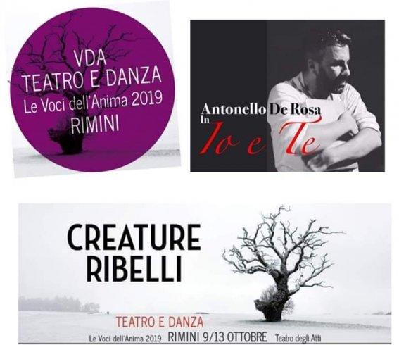 De Rosa ospite del Festival Nazionale di Teatro Le Voci dell'Anima di Rimini - aSalerno.it