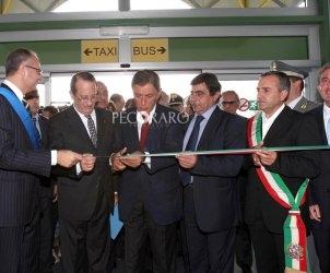 sal : inaugurazione aeroporto Foto Francesco Pecoraro