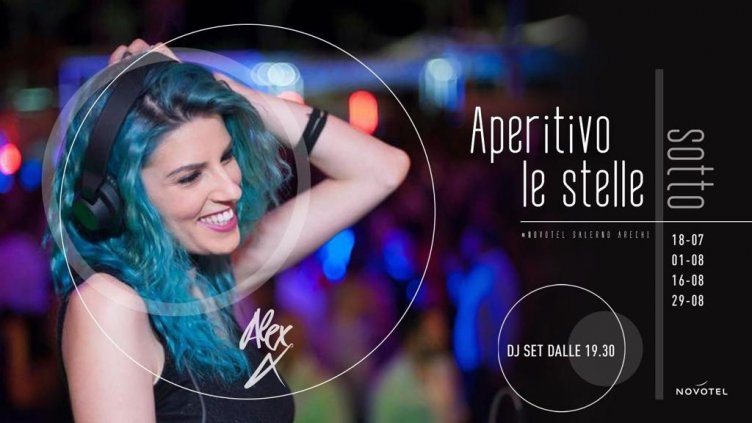 Food, drink, music & fun: aperitivo sotto le stelle al Novotel - aSalerno.it