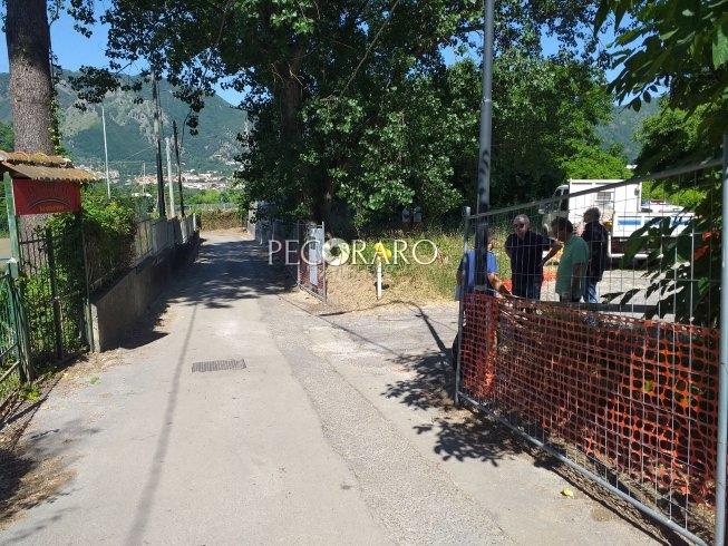 Baronissi, parcheggi e allargamento di via Villari ad Antessano - aSalerno.it