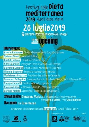 Pioppi, il 20 luglio inaugura il quarto Festival della Dieta Mediterranea - aSalerno.it