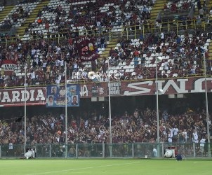 sal - 11 08 2019 Salernitana - catanzaro tim cup. nella foto tifosi salernitana