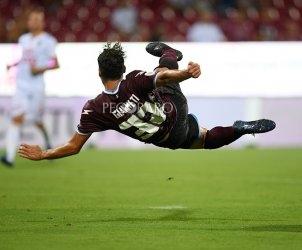 sal - 11 08 2019 Salernitana - catanzaro tim cup. nella foto gol giannetti