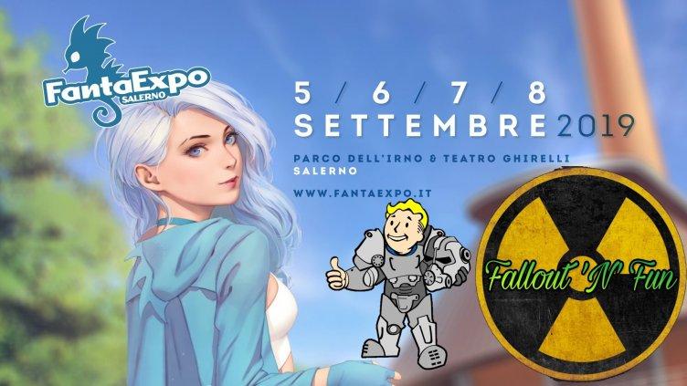 Salerno, area Fallout a FantaExpo 2019 - aSalerno.it