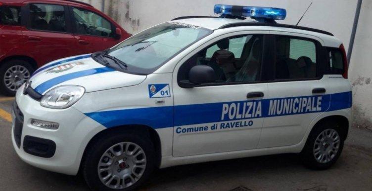 """""""Sacchetti selvaggi"""" a Ravello, controlli della Municipale - aSalerno.it"""