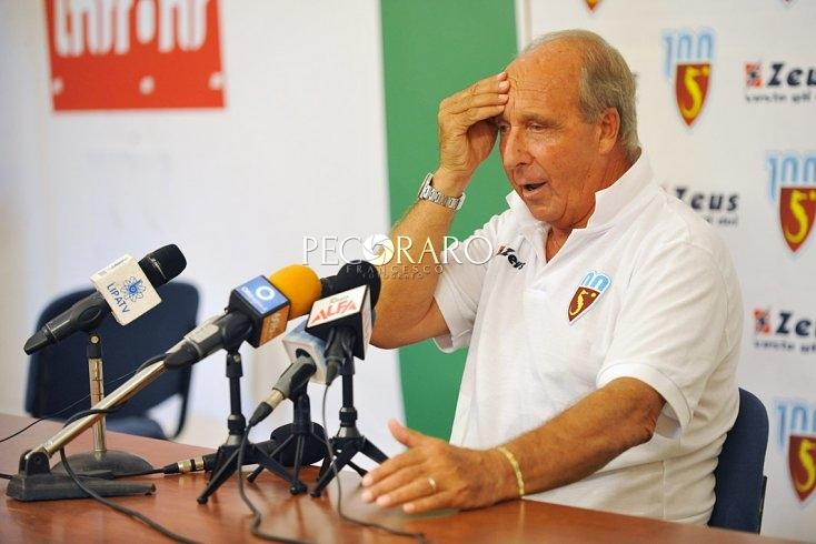 """Ventura: """"Frosinone più forte di noi ma sappiamo di poter colmare il gap con il lavoro"""" - aSalerno.it"""