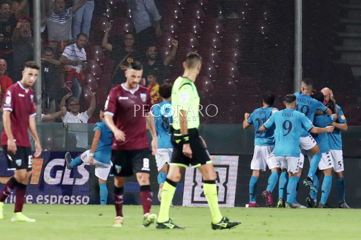 Salernitana: Prima sconfitta in campionato - aSalerno.it