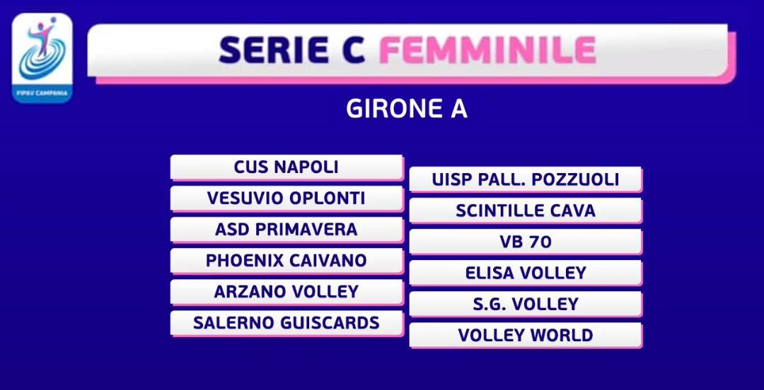 Serie C Femminile - Girone A