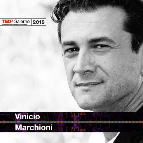 L'attore Vinicio Marchioni al TEDxSalerno 2019 - aSalerno.it