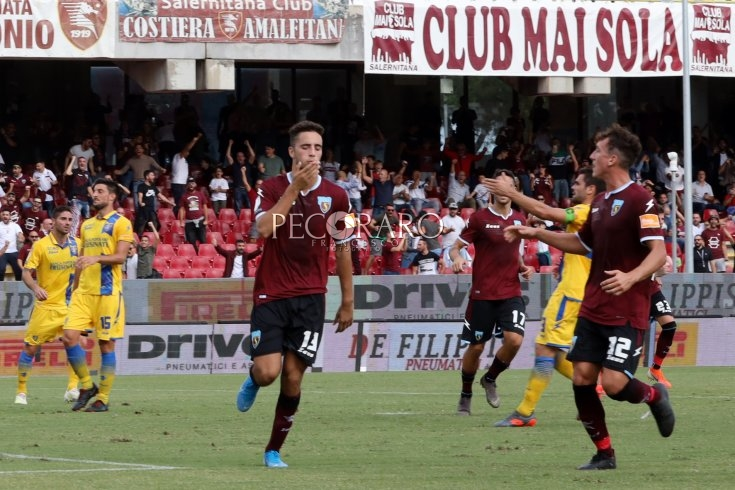 "Salernitana in vetta, Kiyine ringrazia il Frosinone in ""rosso"" - aSalerno.it"