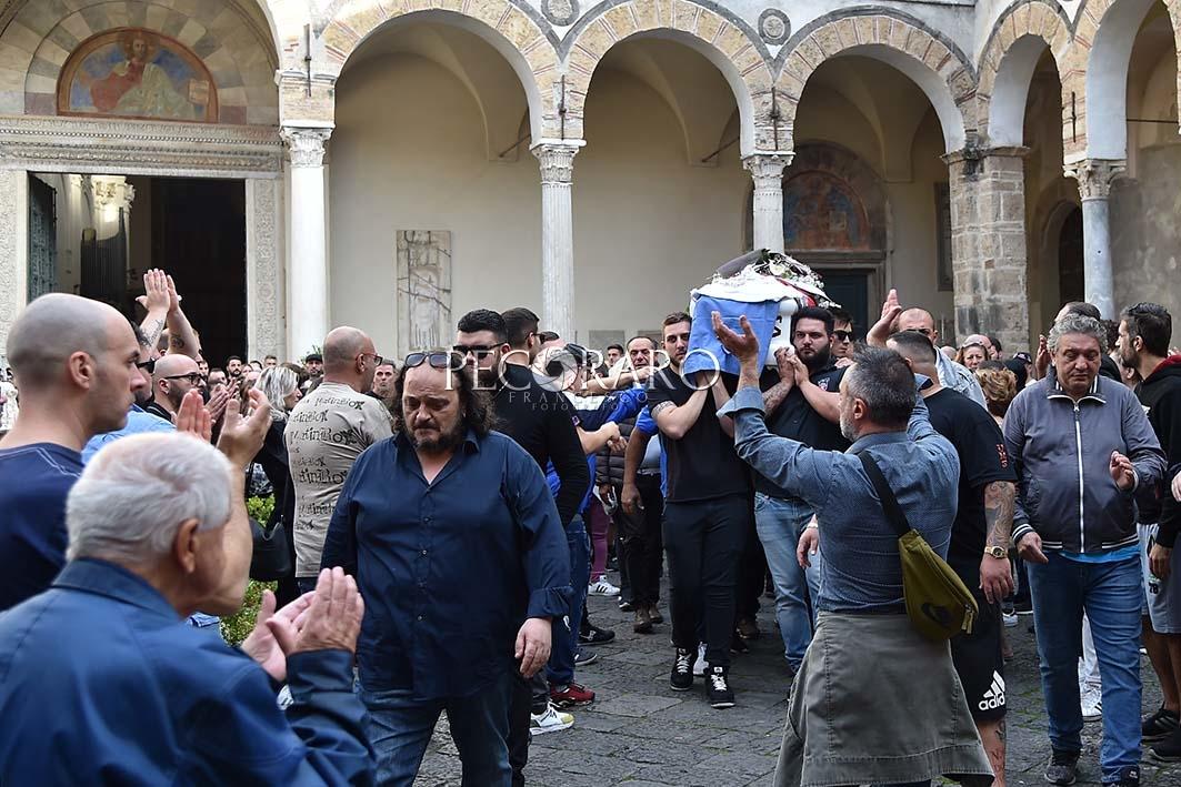 SAL - 25 10 2019 Salerno. Funerali Antonio Liguori. Foto Tanopress