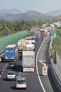 SAL - 14 10 2019 Salerno. Traffico Raccordo SA AV. Foto Tanopress