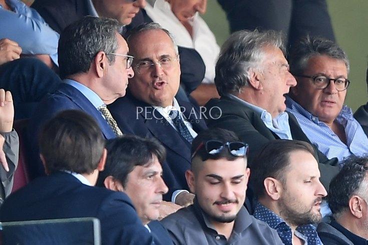 Ritorno in sala stampa del presidente Lotito - aSalerno.it