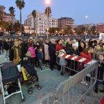 SAL - 16 11 2019 Salerno. Inaugurazione Ruota Panoramica. Foto Tanopress
