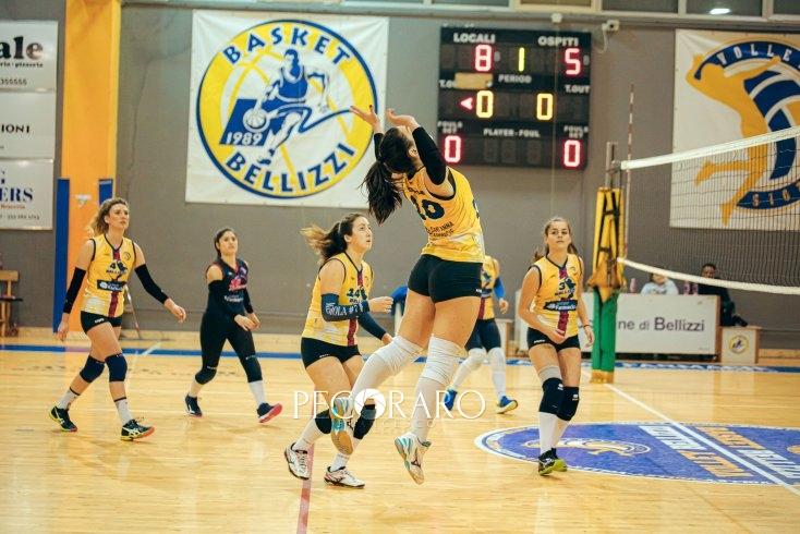 Il Volley Bellizzi batte 3-0 il fanalino di coda Volalto San Nicola - aSalerno.it
