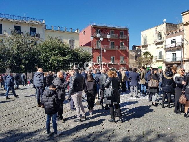 Scafati, 200 commercianti in piazza Vittorio Veneto - aSalerno.it