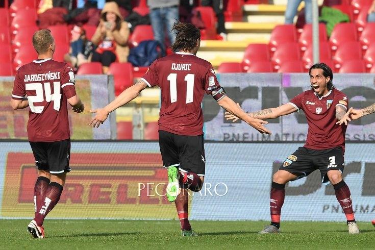 Salernitana, basta Djuric per continuare a sognare (1-0) - aSalerno.it