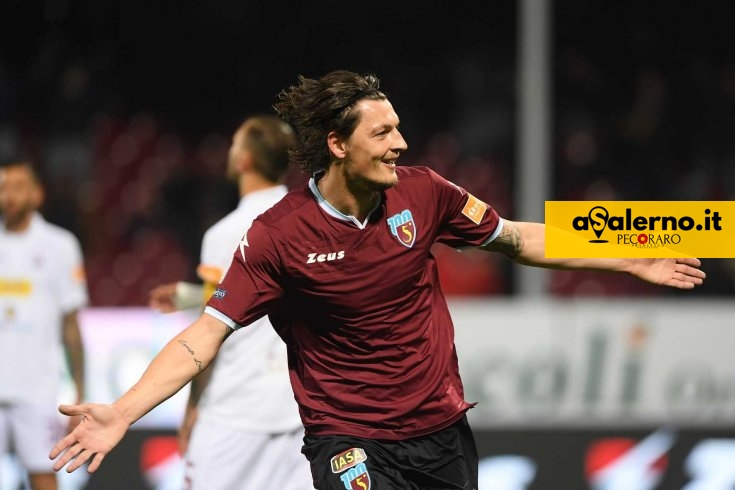 Salernitana testarda con Djuric, Trapani sotto (1-0 pt) - aSalerno.it