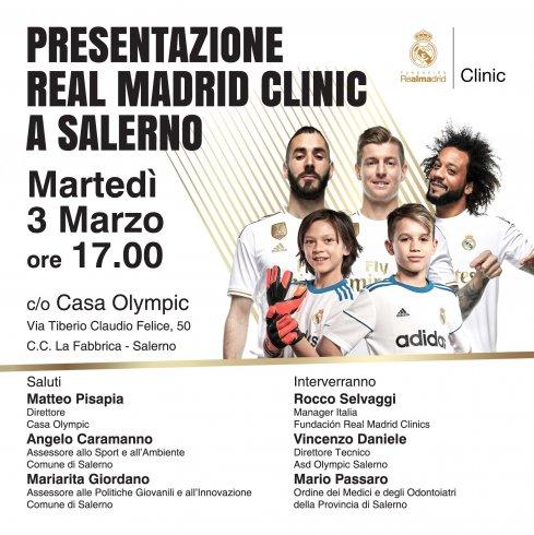 Fundación Real Madrid Clinic sceglie Casa Olympic a Salerno per il suo campus estivo - aSalerno.it