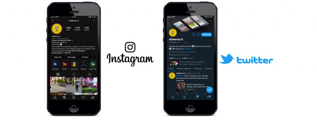 Instagram e Twitter