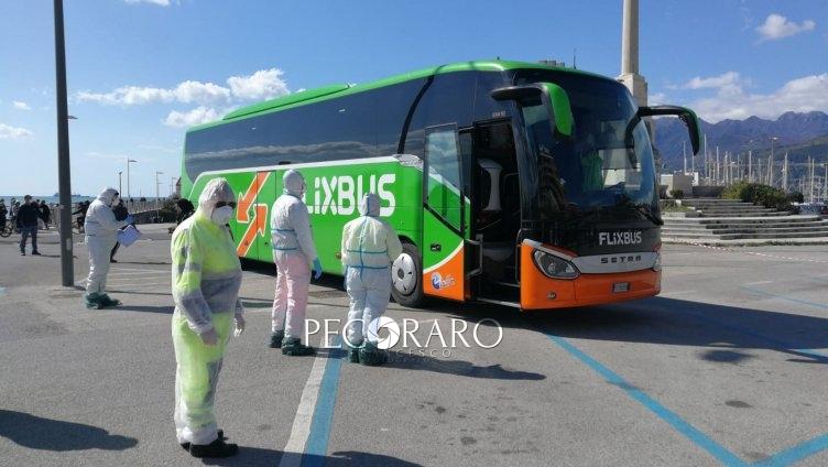 Salerno, controlli treni e autobus per chi viene dalla zona rossa - aSalerno.it