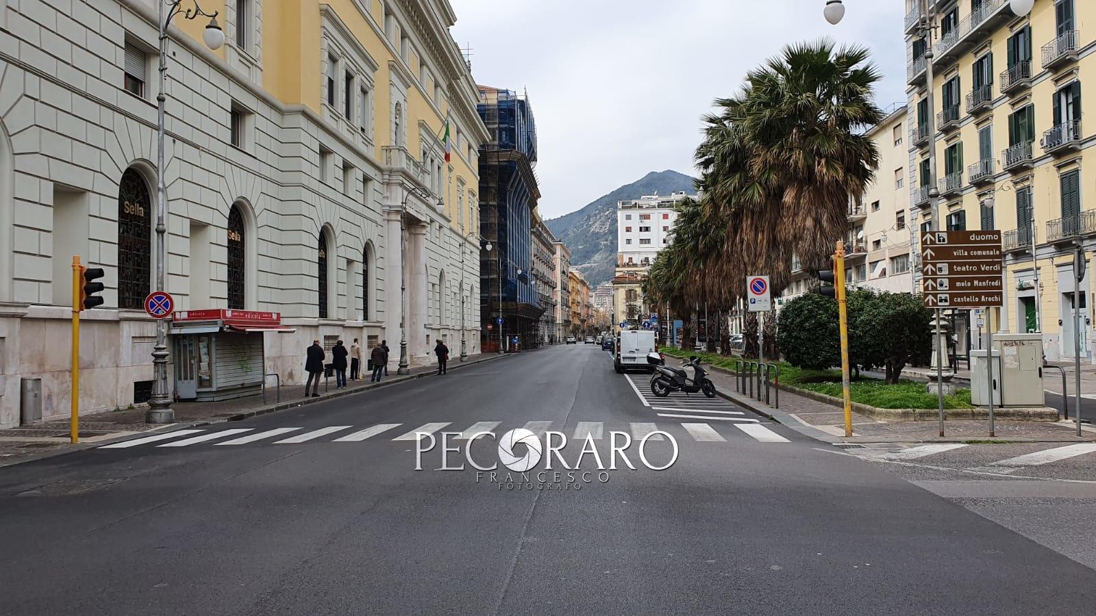 Reportage Ordinanza Io Resto a Casa Salerno