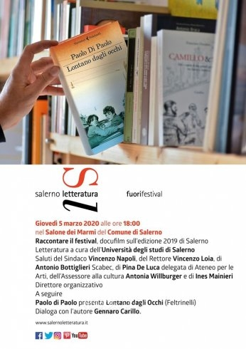 """Salerno Letteratura: """"Raccontare il festival"""" il docufilm degli studenti - aSalerno.it"""