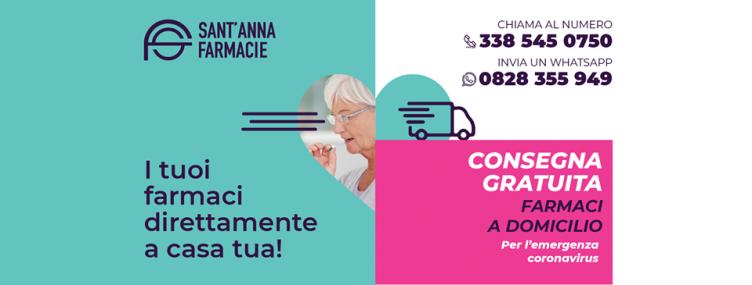 Bellizzi e Baronissi, Sant'Anna Farmacie attiva consegna a domicilio - aSalerno.it