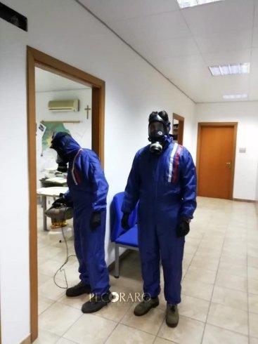 Polizia Municipale e Protezione Civile, sanificate le sedi di Eboli - aSalerno.it